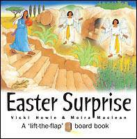 Easter Surprise /Board Book Ages 2-5 Howie & Maclean