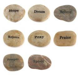 Encouragement Stones, Bag of 25