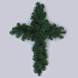 Evergreen Cemetery Cross