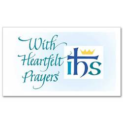 With Heartfelt Prayers Notecards, Pkg/20
