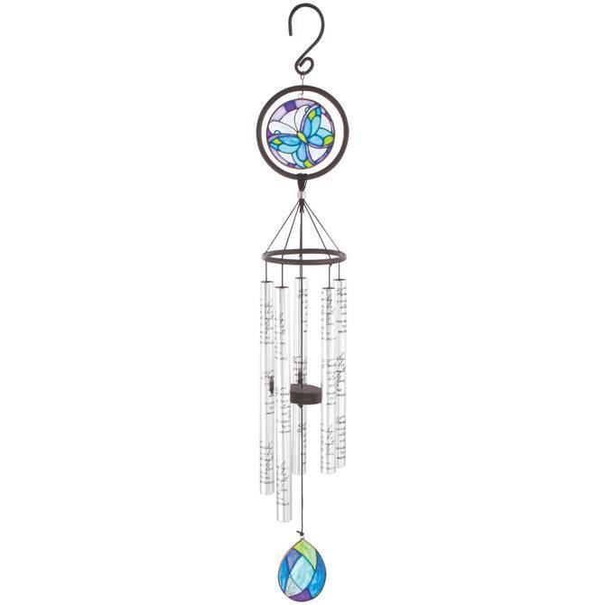 "Family 35"" Stained Glass Wind Chime"