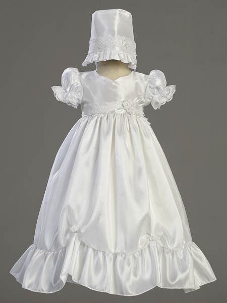 Farrah Christening Taffeta Gown christening gown, christening dress, baptism gown, baptism dress, girl baptism, special occasion, christening outfit, chrsitening apparel, baptism outfit, baptism apparel