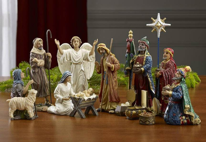 "First Christmas Gifts Nativity Set, 7"" Scale"