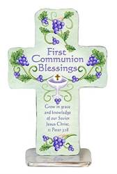 First Communion Standing Cross