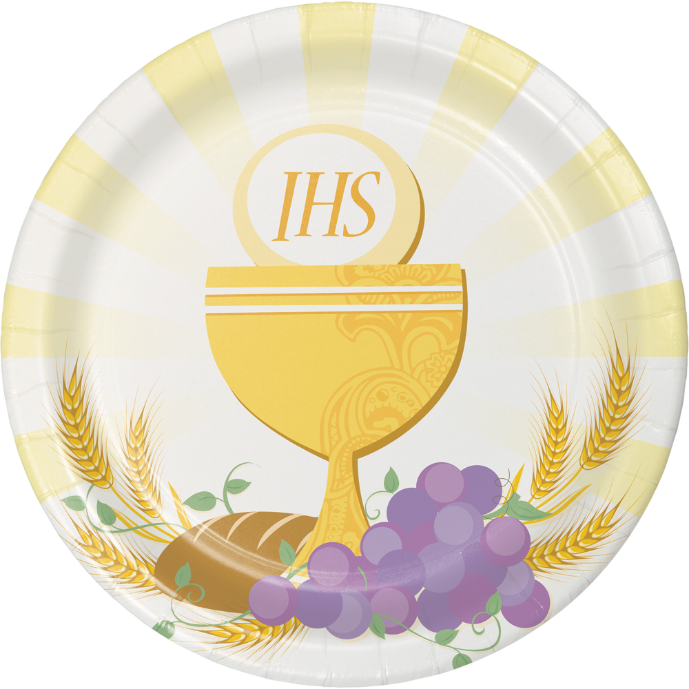 First Communion Plates