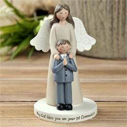 First communion angel with Boy