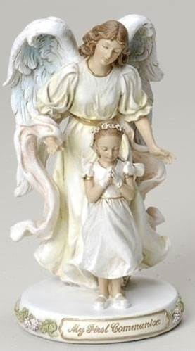 First Communion Angel with Girl
