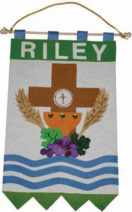 1ST COMMUNION BANNER KIT MAKING SUPPLIES