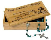 First Communion  Blessings Box