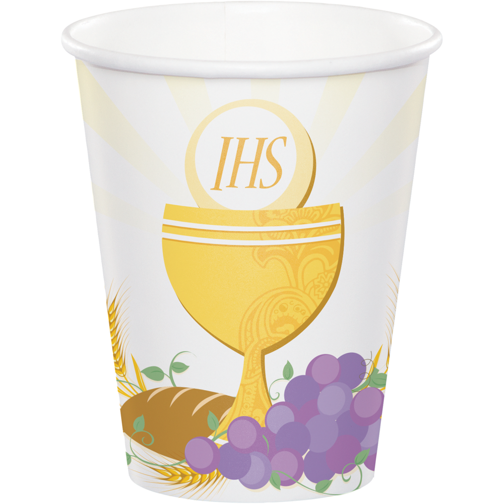 First Communion Cups 8/pkg