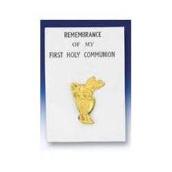 First Communion Lapel Pin