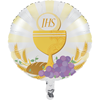 First Communion Metallic Balloon