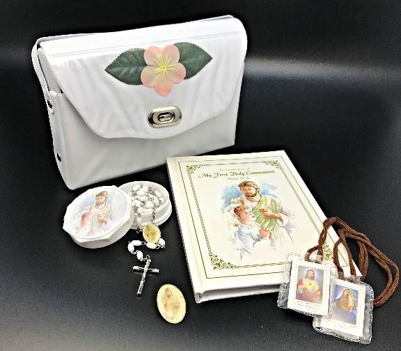 First Communion Missal Set with Purse
