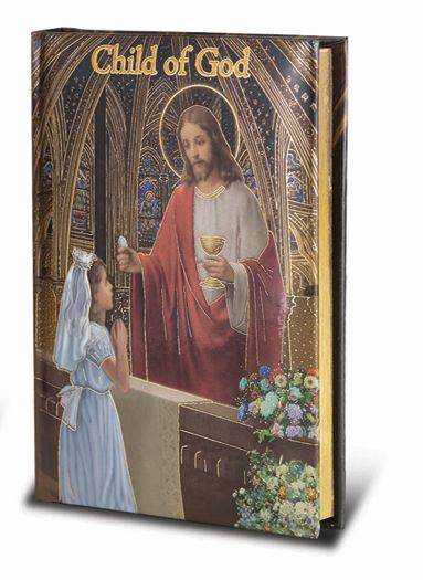 First Communion Missal for Girl first communion missal, girl gift, girl missal, child of god, catherdral edition, holy eucharist, prayerbook, sacramental prayer book, 2470