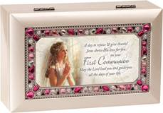 First Communion Music Box