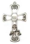 First Communion Pewter Wall Cross