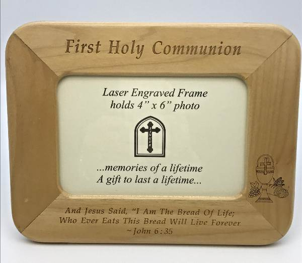 First Communion Picture Frame first communion, holy communion, photo frame, memory holder, picture holder, keepsake,