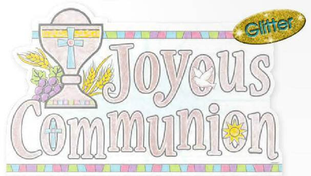 First Communion Plastic Sign 197777,first communion sign, first communion party sign, joyous communion sign, partyware, paper product, sacramental party supplies, first communion partyware, reconciliation partyware, confirmation partyware,boy partyware, girl partyware
