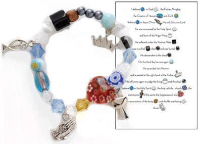 First Communion Story Bracelet