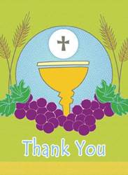 First Communion Thank You Notes