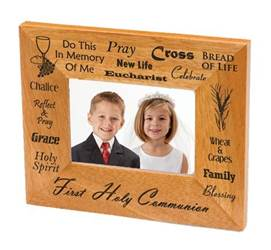 First Communion Wood Picture Frame