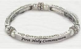 First Holy Communion Stretch Bracelet