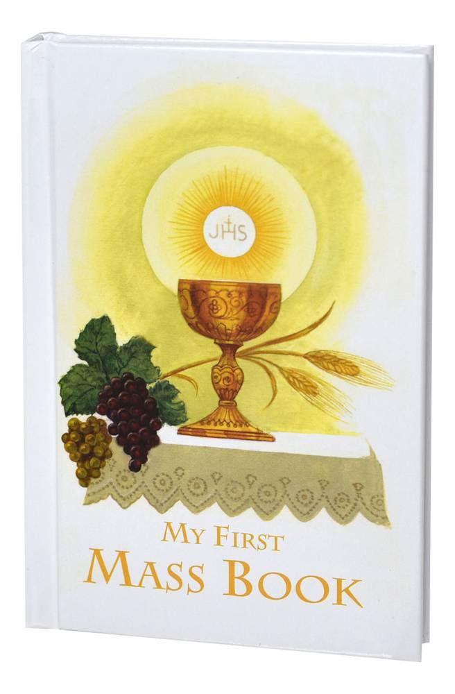 First Mass Book (My First Eucharist) An Easy Way Of Participating At Mass