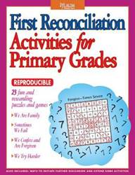 First Reconciliation Activities for Primary Grades reconciliation, activity book, primary grades, sacrament activities, penence activity book