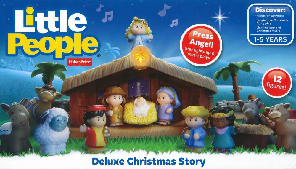 Fisher Price Little People Nativity Set - 38891