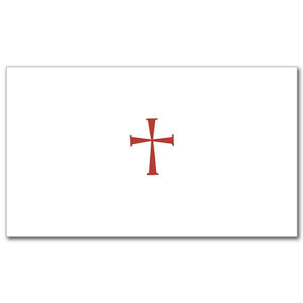 Red Cross Notecards, Pkg/20