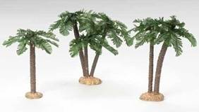 Fontanini Palm Tree Set