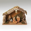 Fontanini 5 Piece Nativity Set with Stable