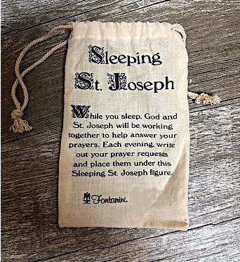 Fontanini Travel Size Sleeping St  Joseph Figure
