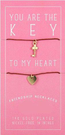 Friendship Necklace-Gold