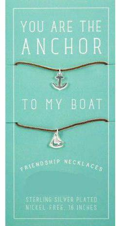 Friendship Necklace-Silver
