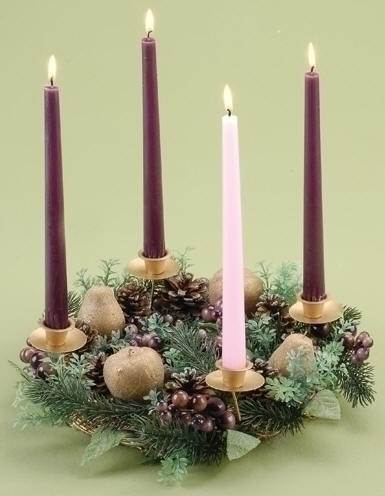 Fruit And Berry Advent Wreath