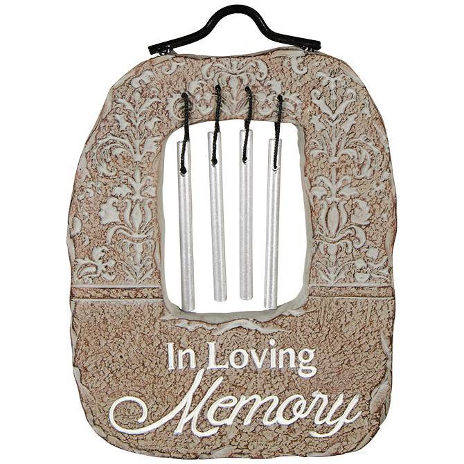 Garden Stake Wind Chimes-In Loving Memory