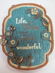 Garden Wall Plaque