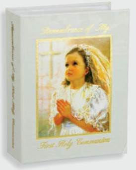 Girl First Communion Photo Album first communion photo album, girl album, photo book, first communion gift, holy eucharist gift, girl gift, certificate, communion certificate, 23460