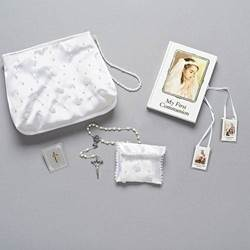 Girls First Communion Missal and Purse Gift Set