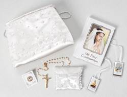 Girls Missal and Purse Gift Set first communion gift, holy eucharist gift, missal set, girls missal, white missal, first communion gift set,