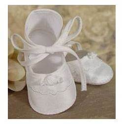 Girls Silk Shantung Shoe