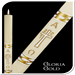 Gloria Gold Paschal Candle