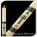 Gloria Green Paschal Candle