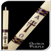 Gloria Purple Paschal Candle
