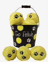 Go Fetch! Bucket of Balls *WHILE SUPPLIES LAST* pet toy, pet gift, christmas gift, tennis balls, go fetch toy, 62054, QUANTITY DISCOUNT, QTY DISCOUNT, ht15