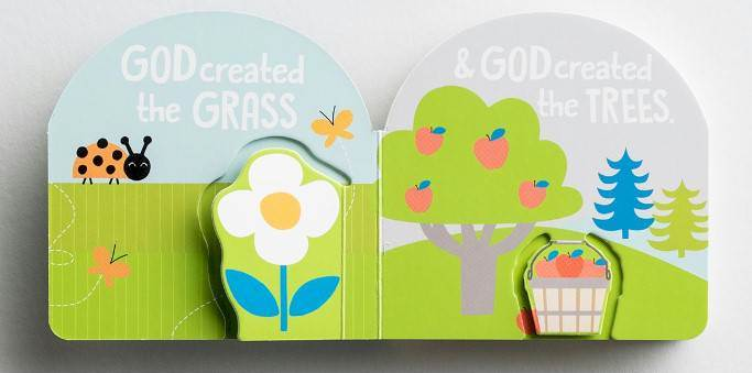 God Created Everything Good Board Book
