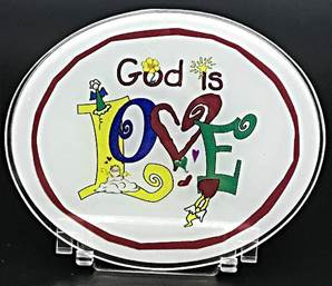 God Is Love Desk Stand