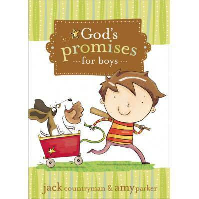Gods Promises for Boys verse book, childrens book, bible reference, verse book for kids, sacramental gift, special occasion gift, 9781400315925, 978-1-4003-159-25