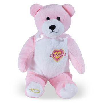 Girl Godchild Holy Bear, Pink
